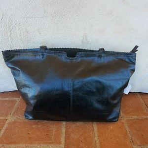 Latico Black Leather Tote NWOT